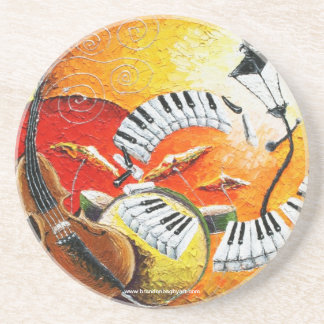 Jazz In The Hills Drink Coaster