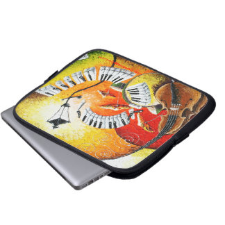 Jazz In The Hills Laptop Sleeve