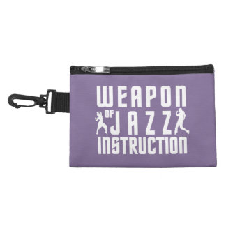 Jazz Instruction custom color accessory bags