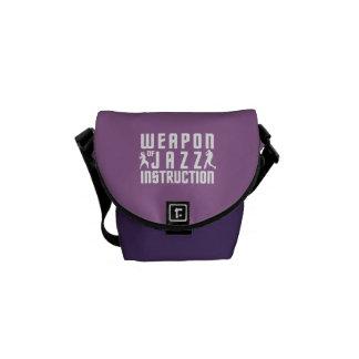 Jazz Instruction custom color messenger bag