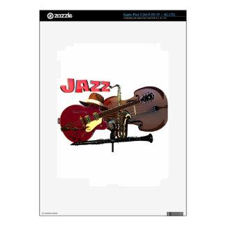 Jazz iPad 3 Skins