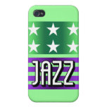 jazz iPhone 4 cárcasa