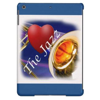 Jazz Iphone, Ipad del amor del músico del Trombone Funda Para iPad Air