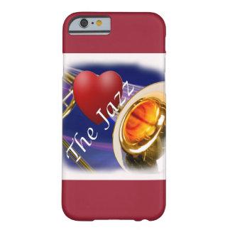 Jazz Iphone, Ipad del amor del músico del Trombone Funda Para iPhone 6 Barely There