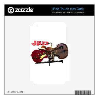 Jazz iPod Touch 4G Skin