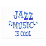 Jazz is Cool Postcard