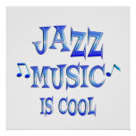 Jazz is Cool Poster