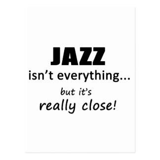 Jazz Isn't Everything Postcard