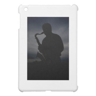 JAZZ IT UP! sax player silhouette to add some TUDE iPad Mini Cover