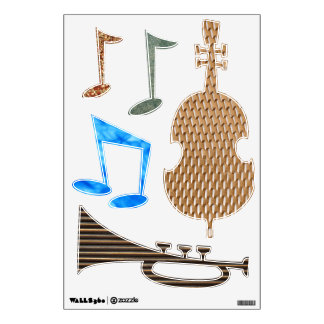 Jazz It Up Wall Decal