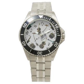 Jazz it up wrist watch