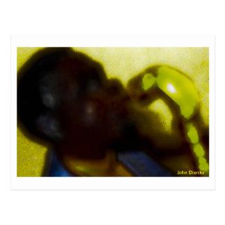 jazz, John Dierckx Postcard