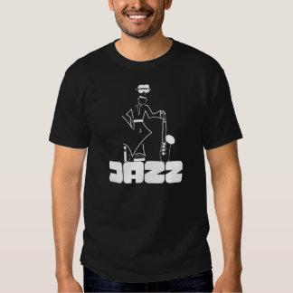 """Jazz """"jugador de saxofón del tenor de la camisa de"""