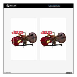 Jazz Kindle Fire Skins