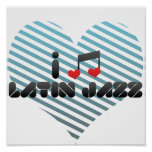 Jazz latino poster