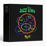 Jazz Lives 3 Ring Binders