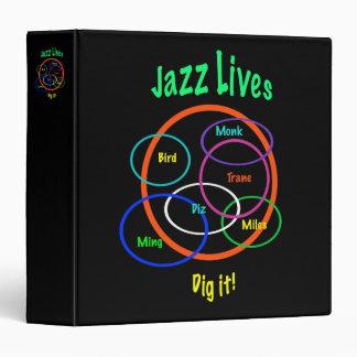 Jazz Lives Binder