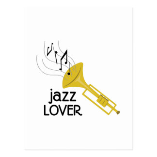 Jazz Lover Postcard