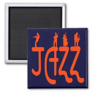 Jazz Refrigerator Magnet