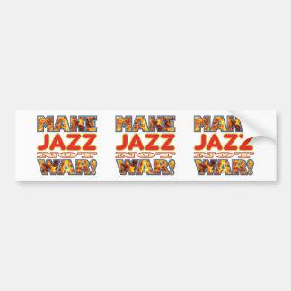 Jazz Make X Bumper Sticker