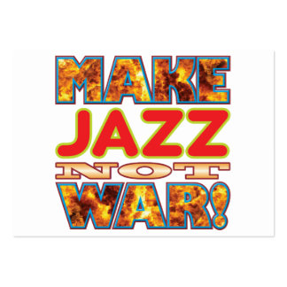 Jazz Make X Large Business Cards (Pack Of 100)