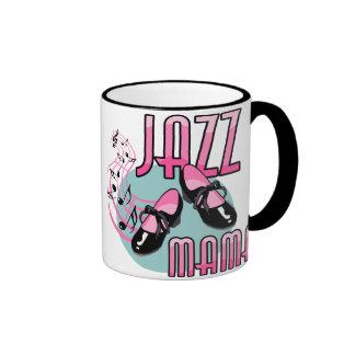 Jazz Mama Tap Dancing Ringer Mug