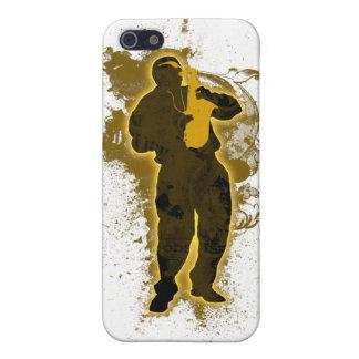 Jazz Man 2 iPhone Case