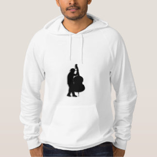 Jazz Man Bass Player Sweatshirt
