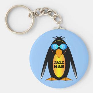 Jazz Man Keychain