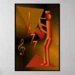 Jazz Man Poster Print