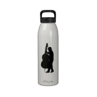 Jazz Man Water Bottle