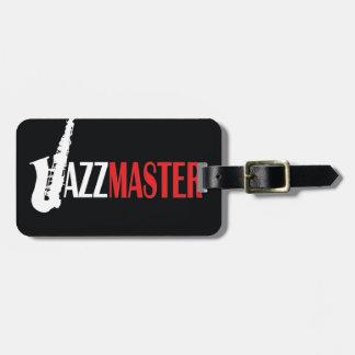 Jazz Master Luggage Tags