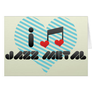 Jazz Metal Card