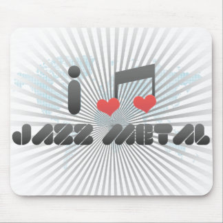 Jazz Metal Mouse Pad