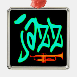 Jazz Metal Ornament