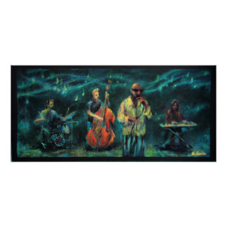 Jazz music group poster
