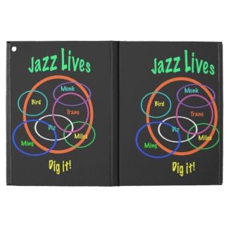 Jazz Music iPad Pro Case