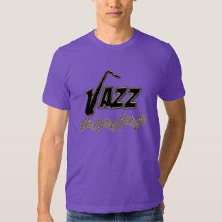Jazz Music Lover ~ Jazz Notes Sax T-Shirt
