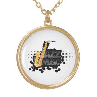 Jazz Music Necklace