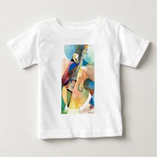 """Jazz Music Painting """"Bassline"""" Baby T-Shirt"""