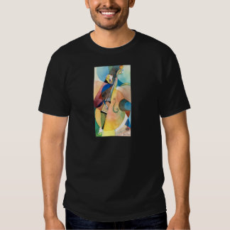 "Jazz Music Painting ""Bassline"" T-shirts"