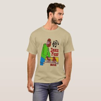 Jazz Music, Piano Player 2018 T-Shirt