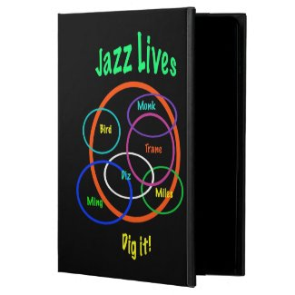 Jazz Music Powis iPad Air 2 Case