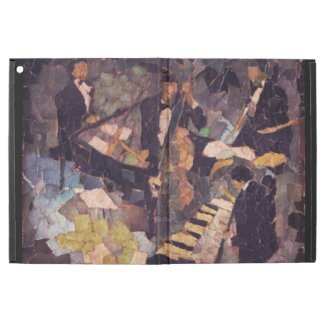Jazz Music Quartet Collage iPad Pro Case