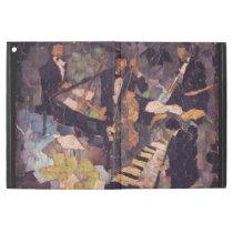 Jazz Music Quartet Collage iPad Pro Case