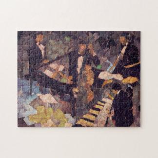 Jazz Music Quartet Puzzle