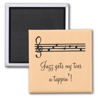 Jazz Music Saying Magnet