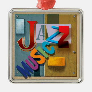 JAZZ Music - SRF Metal Ornament