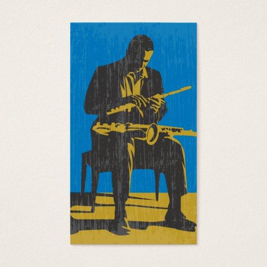 Jazz Musician Business Card