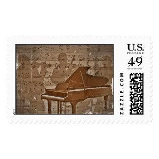 Jazz Musicians Art Stamps